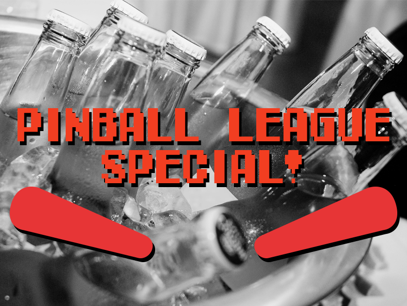 Tuesdays at TWR are host to the St. Louis Area PInball League night - and you can get a bucket of domestics for only $10!