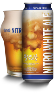 Nitro White Ale from Sam Adams at The Waiting Room in St. Louis, Missouri